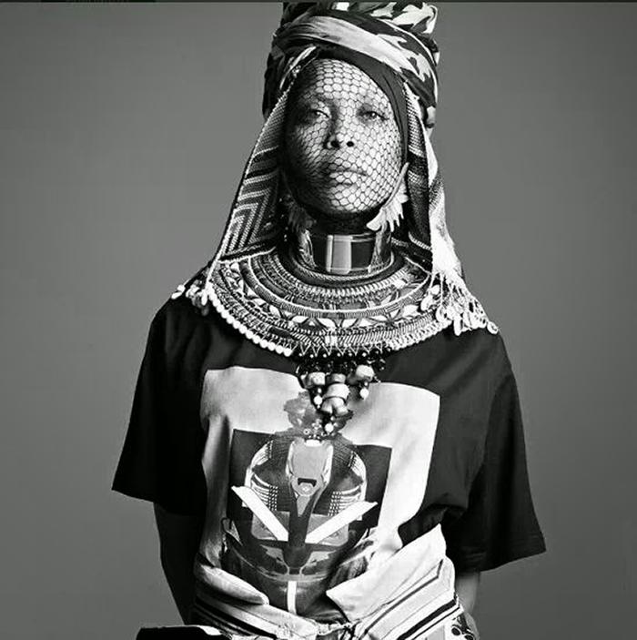 Erykah Badu Givenchy -- 5