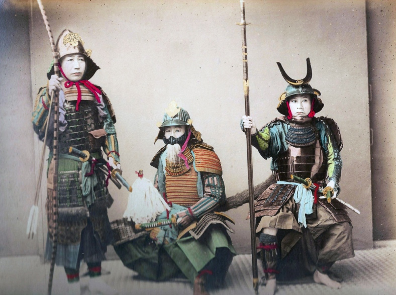 vintage-hand-colored-samurai-photos